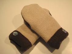 Ferndale Wool Mittens  med/lg  MMC429 by MichMittensbyLauri, $23.00