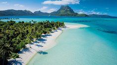 Matira Beach (Bora Bora).  Polinesia