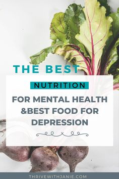 Do you eat to improve your mental health? You can improve some signs and symptoms of depression with nutrition. So waht foods are best to improve mood? Here are the super mood food to eat for depression and improve mental helth Foods For Depression, Depression Symptoms, Nutrition And Mental Health, Brain Health, Did You Eat, Brain Food, Foods To Eat, Improve Yourself, Mood