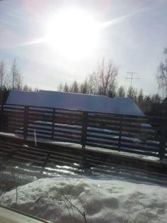 Spring feeling in Tolkkinen
