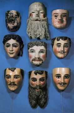 A collection of masks