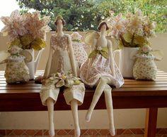 Festa Tilda  campestre - kit decoração | Flor de Tule | 3167F0 - Elo7