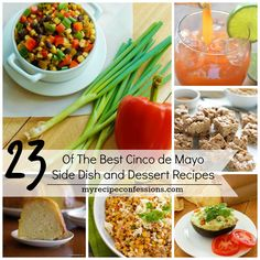 You need to try 23-of-the-best-Cinco-de-Mayo-side-dish-and-dessert! They will take you Cinco de Mayo Party from fun to off the charts amazing!