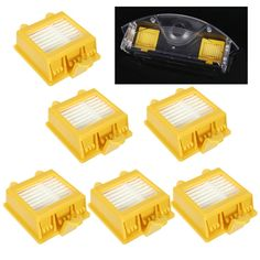 6pcs Replacement Filter For iRobot Roomba 700 Series 760 770 780 790 Vacuum Cleaner