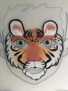 Face Painting Designs, Paint Designs, Tiger Face Paints