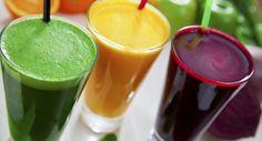 Sucos detox: 5 receitas