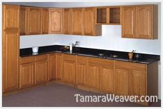 cherry kitchen cabinets - http://www.tamaraweaver.com/cherry-kitchen-cabinets-3/