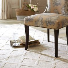 Moorish Tile Rug - Ivory - Liked @ Homescapes Home Staging www.homescapes-sd.com #contemporaryrugs