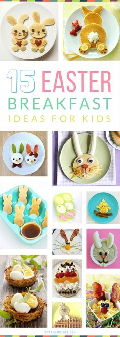 Easter Breakfast Ideas for Kids | Healthy, easy and fun recipes for you to make - also great for brunch! #artsandcraftsideasforkids,