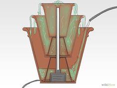Fabriquer une fontaine fontaine fontaine de jardin - Comment creer une fontaine de jardin ...