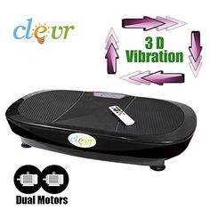 New Clevr Dual Motor Full Body Oscillation Vibration Platform Fitness Machine ** Click image to review more details.