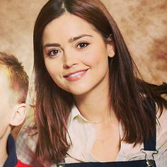 """jenna coleman "" like or reblog if you saved any."
