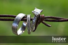 rings on barbed wire? ouch!
