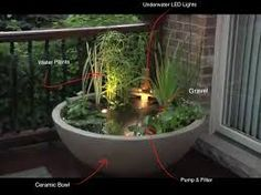 Image result for small corner yard waterfall pond ideas