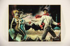 L011078 Boris Vallejo 1992 Card / Space Captive - 1986 - Card #81 / ARTWORK