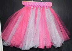 Items similar to Pink and Grey Tutu on Etsy Pink Grey, Tutu, Trending Outfits, Skirts, Etsy, Shopping, Vintage, Dresses, Fashion