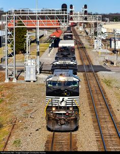 RailPictures.Net Photo: NS 9807 Norfolk Southern GE C44-9W (Dash 9-44CW) at Salisbury, North Carolina by Christopher Rambo