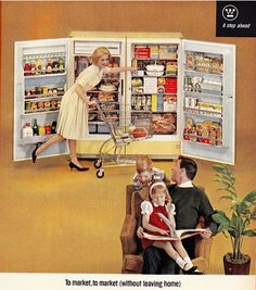 Go shopping in your own kitchen!