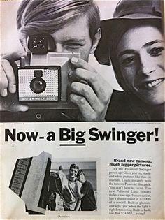 Polaroid Swinger, 1968...