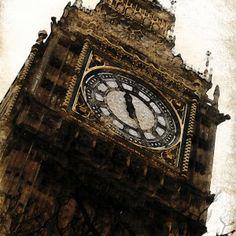 Wawrous Foto Design - Big Ben by Wawrous