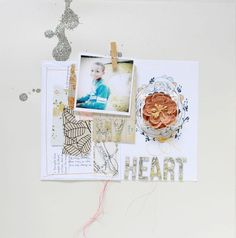 #papercraft #scrapbook #layout. Kim Stewart