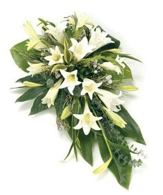 Order sympathy flowers - Fineflora offers a large range of flowers and floral arrangements to send to funeral directors in England, Wales, Scotland, and Northern Ireland (UK and Great Britain) Funeral Bouquet, Funeral Flowers, Wedding Flowers, Arrangements Funéraires, Funeral Floral Arrangements, Casket Flowers, Flowers London, Funeral Sprays, Casket Sprays