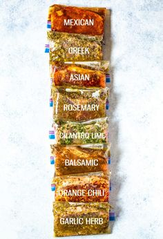 8 Best Ever Steak Marinades (Freezer Meal Prep) - The Girl on Bloor These 8 Best Ever Steak Marinades are perfect for freezer meal prep and each of the marinades only contain 5 easy ingredients that you probably already have in your pantry! Steak Marinade For Grilling, Steak Marinade Recipes, Meat Marinade, Marinated Steak, How To Grill Steak, Beef Recipes, Marinades For Steak, Grilled Steaks, Salmon Marinade
