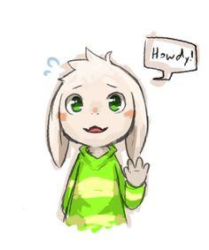 Asriel - Algumas pessoas ainda não perceberam mas o nome dele é a junção do nome dos pais (e eu adoro isso X3). Asriel = As de Asgore (o pai dele) e Riel de Toriel (a mãe).