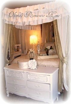 Shabby Chic Bedroom Boudoir Update!