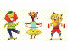 Peggy Nille #circus #animals #vintage