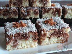 Píchaná kefírová buchta | NejRecept.cz Czech Recipes, My Recipes, Sweet Recipes, Cookie Recipes, Healthy Recipes, Ethnic Recipes, Kefir, Kakao, Dessert Bars