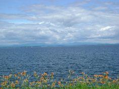 Lake Champlain from the New York shore