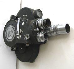 Victor Cine 16mm Film Camera Model 4 w 3 Lenses | eBay