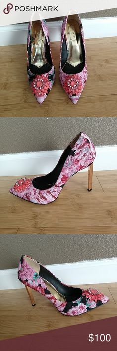 e397f82c10726e Ted Baker Annabilla Heels (feels like Excellent used condition Minor signs  of use( pls see pics) Size 38 or 7 ( size runs big