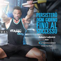 Persisterò OGNI GIORNO fino al SUCCESSO! #mondaymotivation  Buon lunedì di allenamento a tutti!  => www.vitamincenter.it