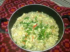 chinese fried rice cooked by me.20th august,2015