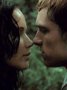 I want to be katniss. Because she is beautiful and because she gets to make out with josh hutcherson.