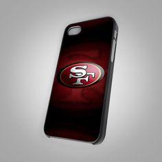 NEW San Francisco 49ers Logo Print On Hard Case For iPhone 4/4s 5/5s 6s 6s plus #UnbrandedGeneric