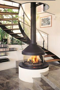 34 The Best Modern Fireplace Design Ideas - Home Bestiest