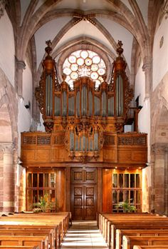 Orgue Silbermann de Strasbourg Saint Thomas