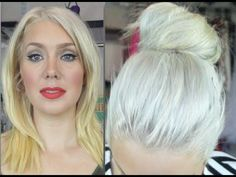 How to banish yellow tones from blonde hair. Seriously good tips.