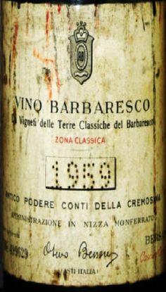 Barbaresco Sel. numerata 1959  BERSANO.