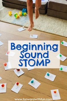 Beginning Sound STOMP - letter sounds reading activity