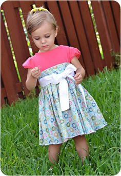 Natalie Dress: Girls Dress PDF Pattern, Baby & Toddler Dress PDF Pattern by PeekabooPatternShop on Etsy https://www.etsy.com/listing/95723406/natalie-dress-girls-dress-pdf-pattern
