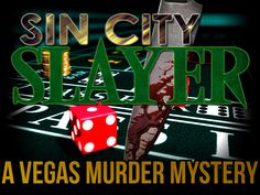 Sin City Slayer: Casino Murder Mystery Party - Instant Download