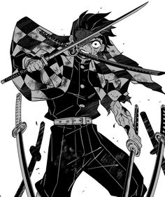Demon Manga, Manga Anime, Yandere Anime, Anime Art, Demon Slayer, Slayer Anime, Japanese Drawings, Sword Design, Demon Hunter