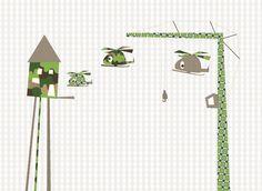 Behang in de baby- of kinderkamer | Interieur Inspiratie