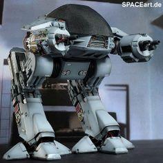 Robocop: ED-209 - Deluxe Figur, Fertig-Modell ... http://spaceart.de/produkte/rc002.php