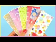 (22) DIY: Bookmarks & Watercolor Techniques for Beginners Part 2 | Watercolor DIY | How To Make Bookmarks - YouTube