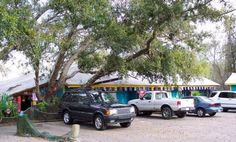 A small dirt road will lead you straight to the eatery's parking lot. Don't be surprised if it's packed – despite its remote location, that's the norm. Parking Lot, Great Stories, Mississippi, Remote, Places To Visit, Restaurant, Parking Space, Diner Restaurant, Restaurants